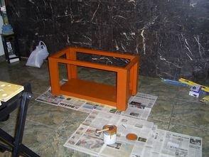 akvárium asztal99